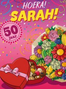 Sarah kaartje