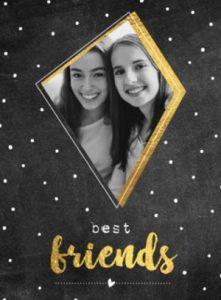 Vriendschapskaart vriendin